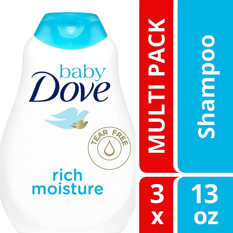 Baby Dove Tear FreeShampoo, Rich Moisture, 13 oz, 3 count