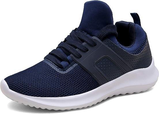 DENGBOSN Zapatillas Running para Hombre Mujer Fitness Zapatos Deportivas Ligero Sneakers Gimnasio Aire Libre y Deporte: Amazon.es: Zapatos y complementos