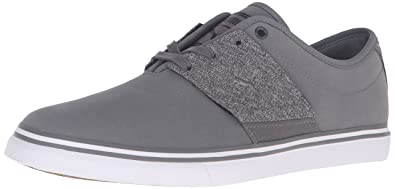 PUMA Men's EL Ace NBK Denim Fashion Sneaker, Steel Gray/Dark Shadow, 8