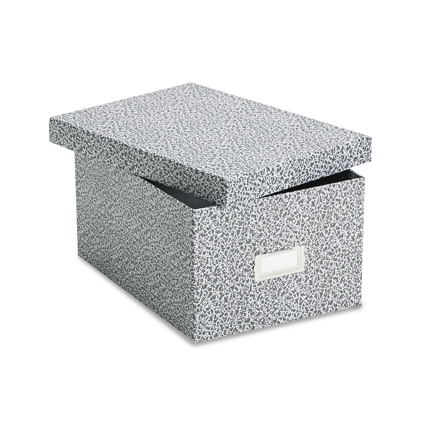OXF40590 - Oxford Plastic Index Card Boxes w/Lids by Oxford