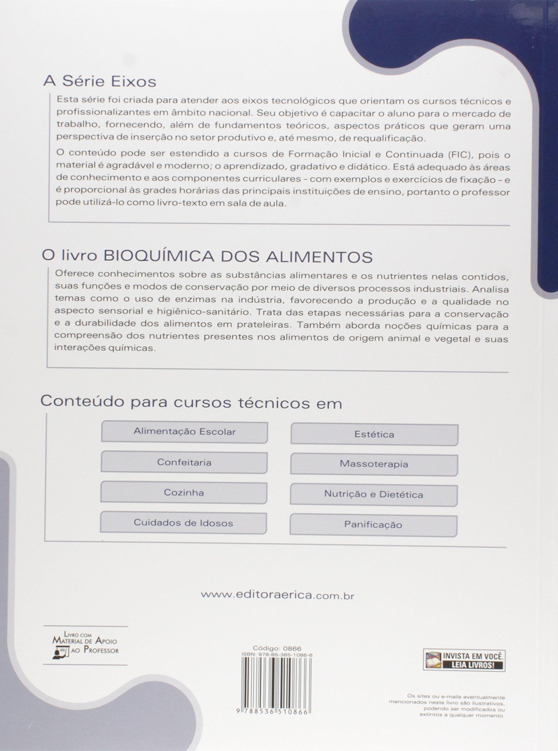 Bioquimica dos Alimentos: Composicao, Reacoes e Praticas de ...