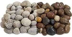 Quarrystore - Piedras de playa escocesas de 25 mm a 40 mm – piedras decorativas ideales para jardines – bolsa de 1 kg: Amazon.es: Jardín