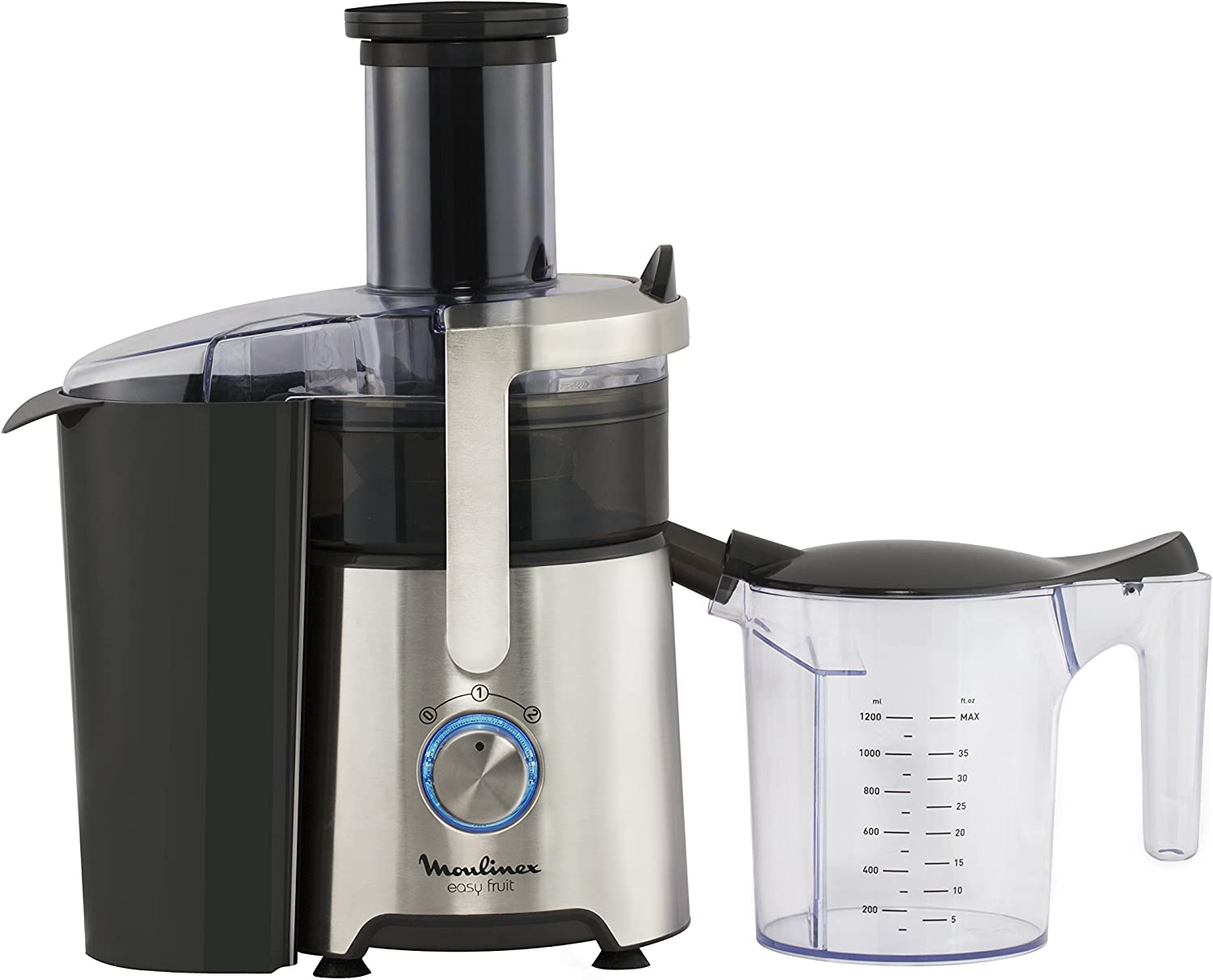Moulinex ju610d Extractor de zumo Easy Fruit: Amazon.es: Hogar