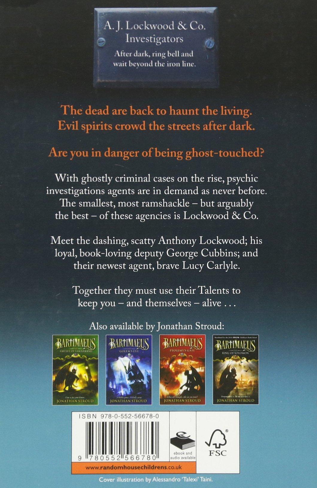 Lockwood & Co: The Screaming Staircase: Jonathan Stroud: 9780552566780:  Amazon: Books