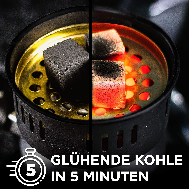 allume-feu /électrique noir four /à charbon Allume-charbon /électrique pour charbon four /électrique allume-feu pour barbecue barbecue /à charbon avec c/âble de 150 cm accessoire hotte portable