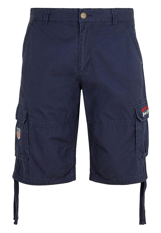 Goodyear Herren Shorts - Kurze Hose - Bermuda Hermitage - Dark Navy - Größe M