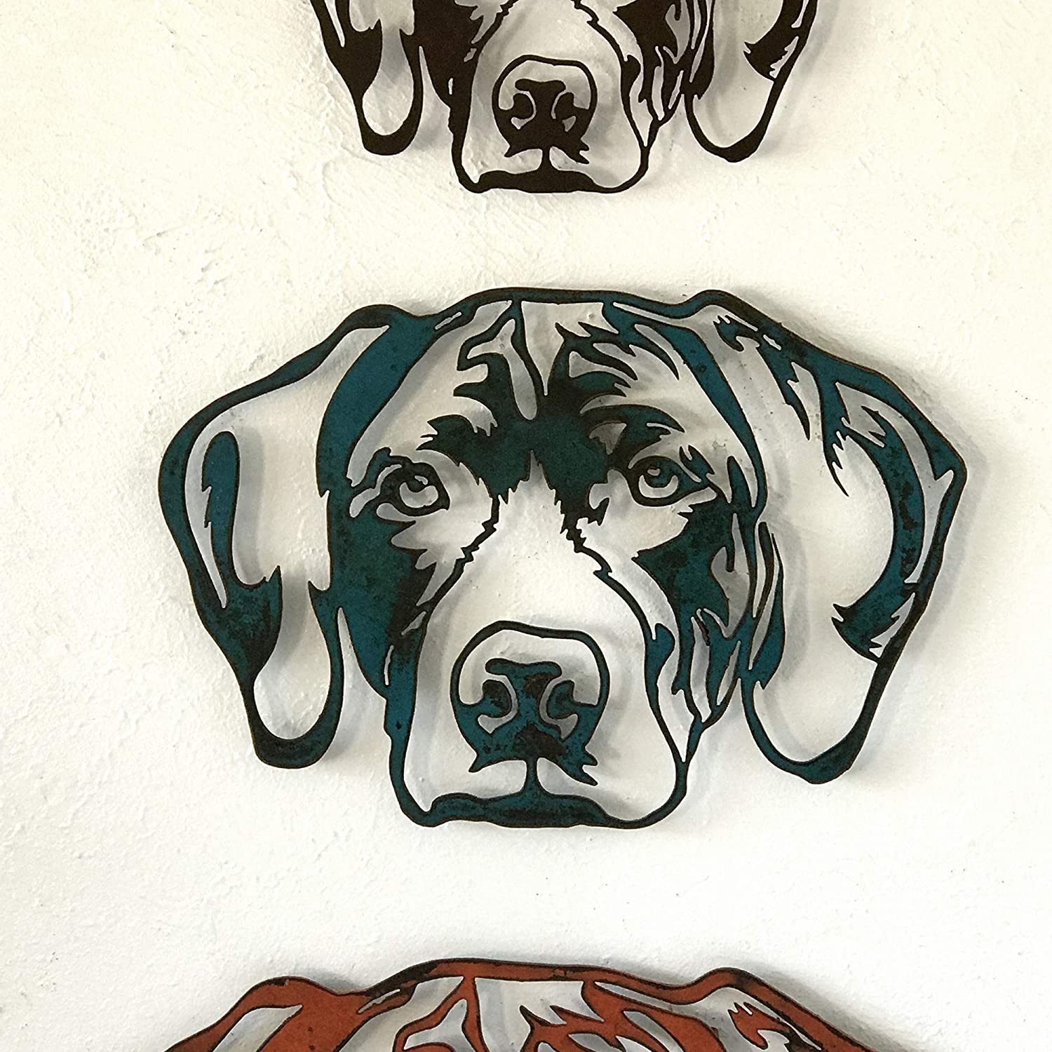 Metal Wall Art home decor see options and Choose from 20 different Dog Breeds! German Short Haired Pointer 17 or 23 Choose 11 Canine Art Choose your Patina Color Handmade