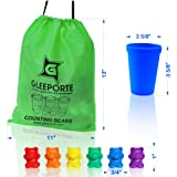 Gleeporte Colorful Counting Bears with