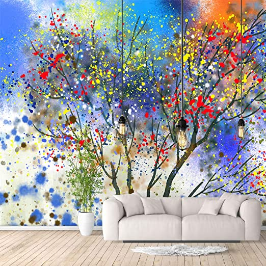 3D White Tree Sky A583 Removable Wallpaper Self Adhesive Wallpaper Extra Large Peel /& Stick Wallpaper Wallpaper Mural AJ WALLPAPERS