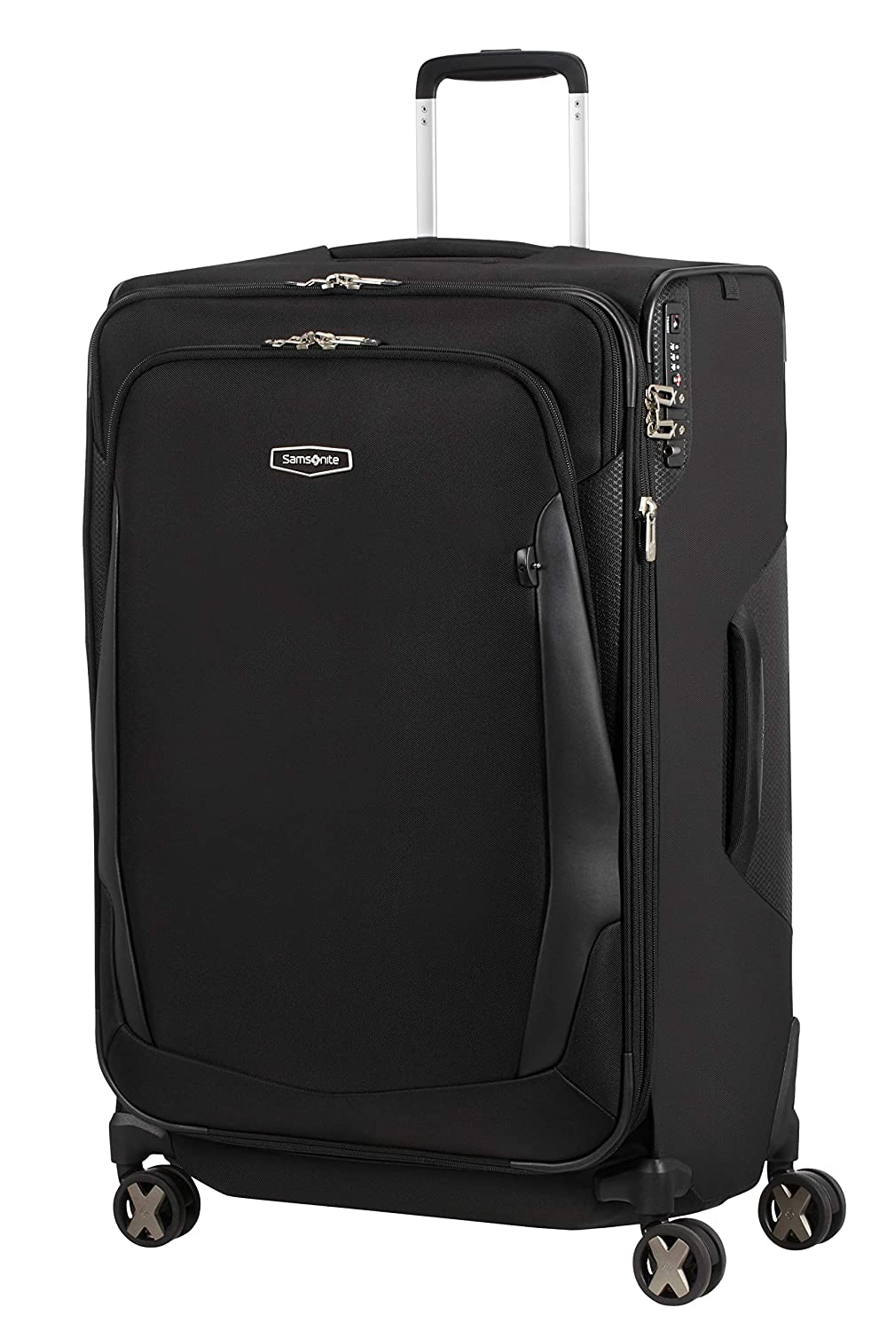 Samsonite X'Blade 4.0 - Spinner L - Maleta expansible, 78 cm, 127 L, Color Negro