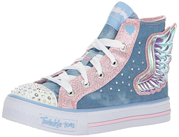 Skechers Shuffles Doily Dance Toile Baskets: Twinkle Toes: Amazon.fr:  Chaussures et Sacs