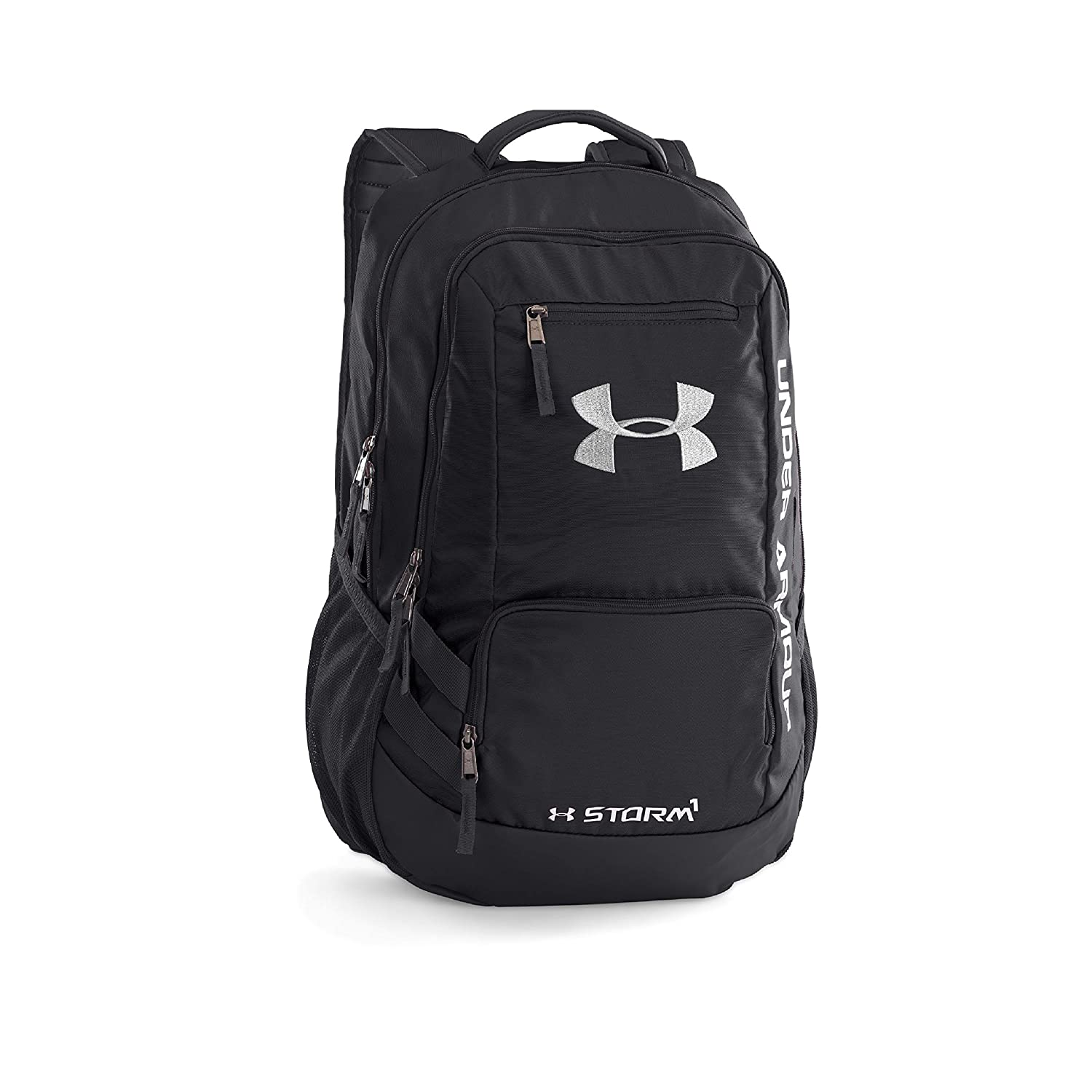 55f1ebbea57a Under Armour Hustle Black Casual Backpack (1263964-001)  UNDER ARMOUR   Amazon.in  Bags