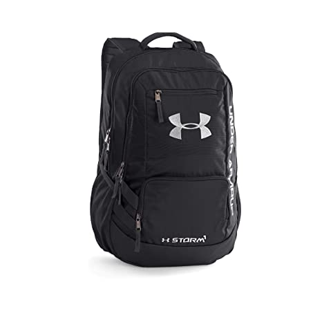 Image Unavailable. Image not available for. Colour  Under Armour Hustle  Black Casual Backpack ... 78bdf404ff18f