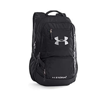 5927b6290 Under Armour UA HUSTLE BACKPACK II - Mochila, color Negro, talla Única:  Amazon.es: Deportes y aire libre