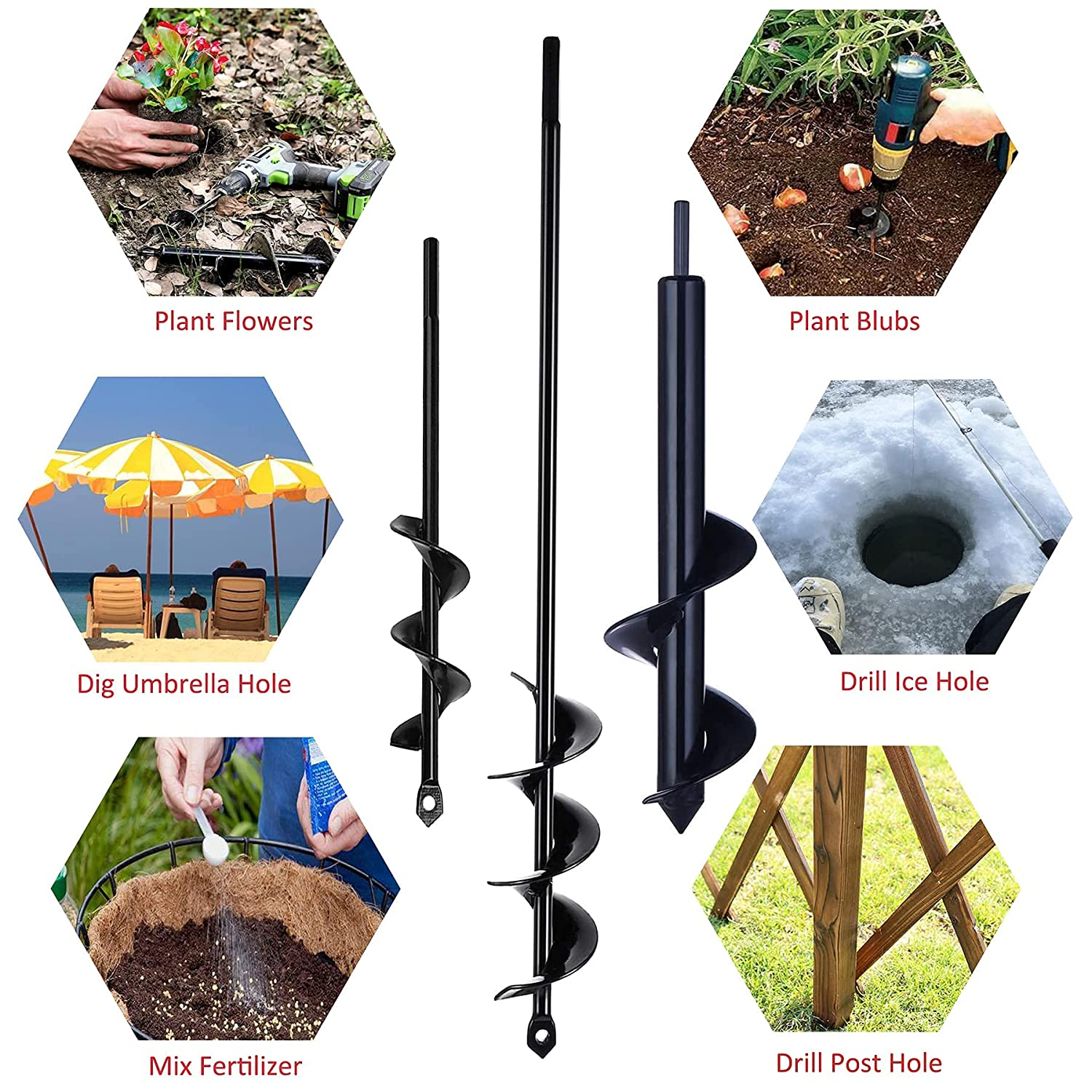 L &1.8 &1.6 D D x14.6 D x10 for Bedding Plants and Digging Weeds ...