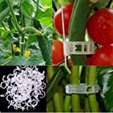 Oldhill 100-Pack Plant Support Clips for Trellis
