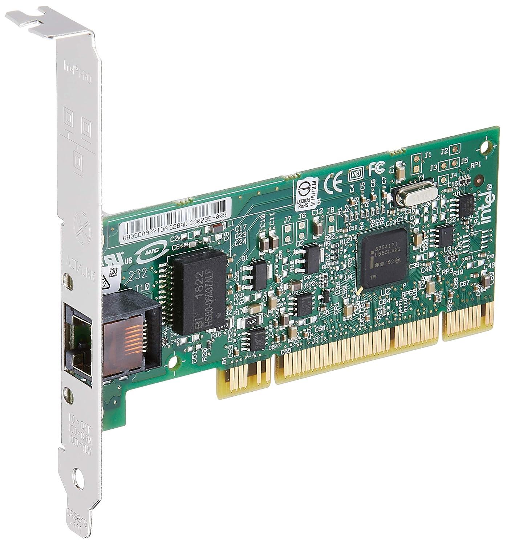 10Base-T EN 1000Base-T Fast EN 100Base-TX Intel PRO//1000 GT Desktop Adapter PCI Gigabit EN Network adapter