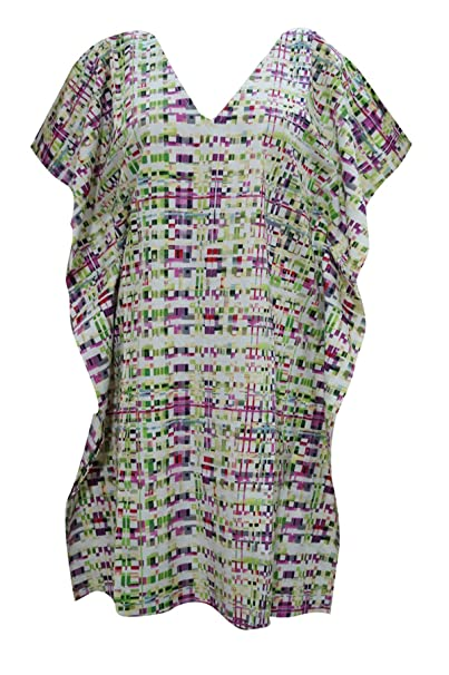 Boho Chic Designs - Vestido - kimono - para mujer multicolor 38