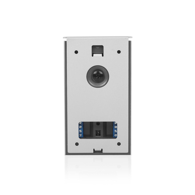 3,5 Zoll LCD-Monitor Smartwares DIC-22132 Video-T/üreingangskontrolle 480p Set f/ür 3 Wohnungen