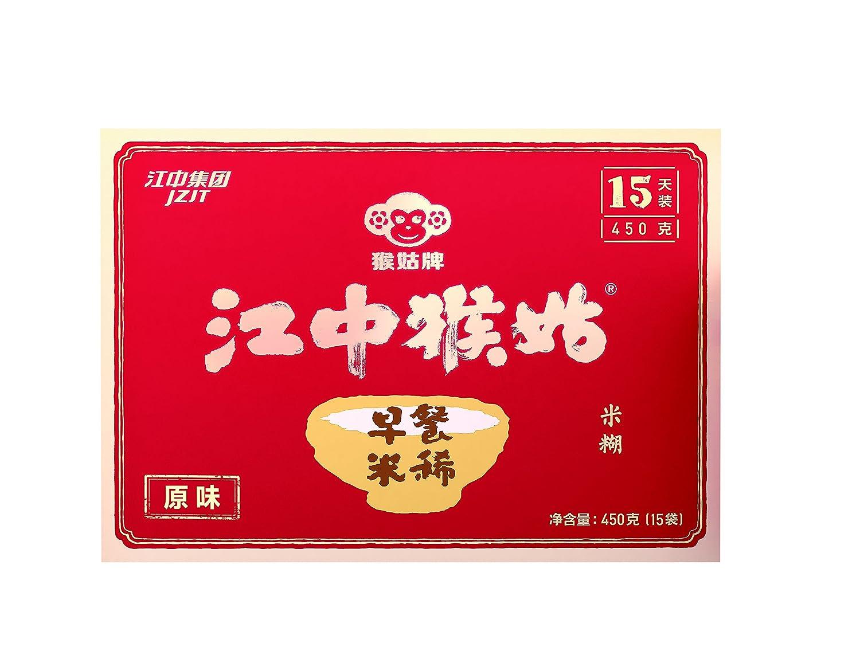 Jiangzhong Hougu Breakfast Rice Cereal 15 Packs 江中猴姑早餐米稀原味15天装