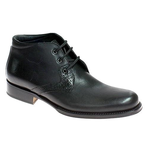 aca0900b11f3c Grandiscarpe Scarpa Mid Uomo con Lacci Elegante Calzature Artigianali  Taglia 42  Amazon.it  Scarpe e borse