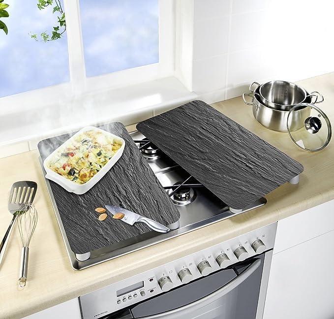 Wenko Juego de Cubiertas de Cocina Universal Mojito, Multicolor, 52x30x4.5 cm, 2 Unidades