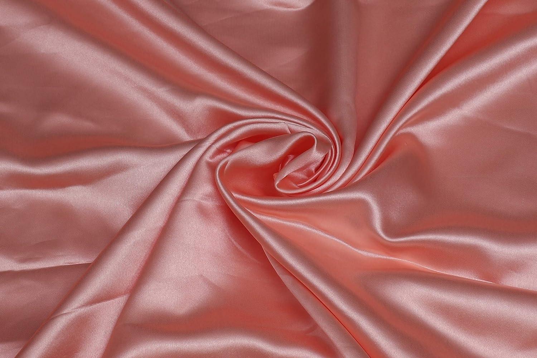 "Silky Charmeuse Lightweight Satin bridal dress fabric 44/"" Wide"