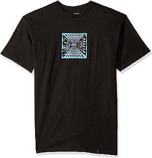 6004e6233ac7a Amazon.com: HUF Men's Botanica Floral Short Sleeve Shirt: Clothing