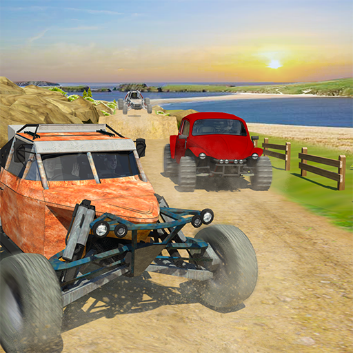 Offroad Dune Buggy Car Racing Outlaws Simulator 2018: Dirt Track Games Free for Kids ()