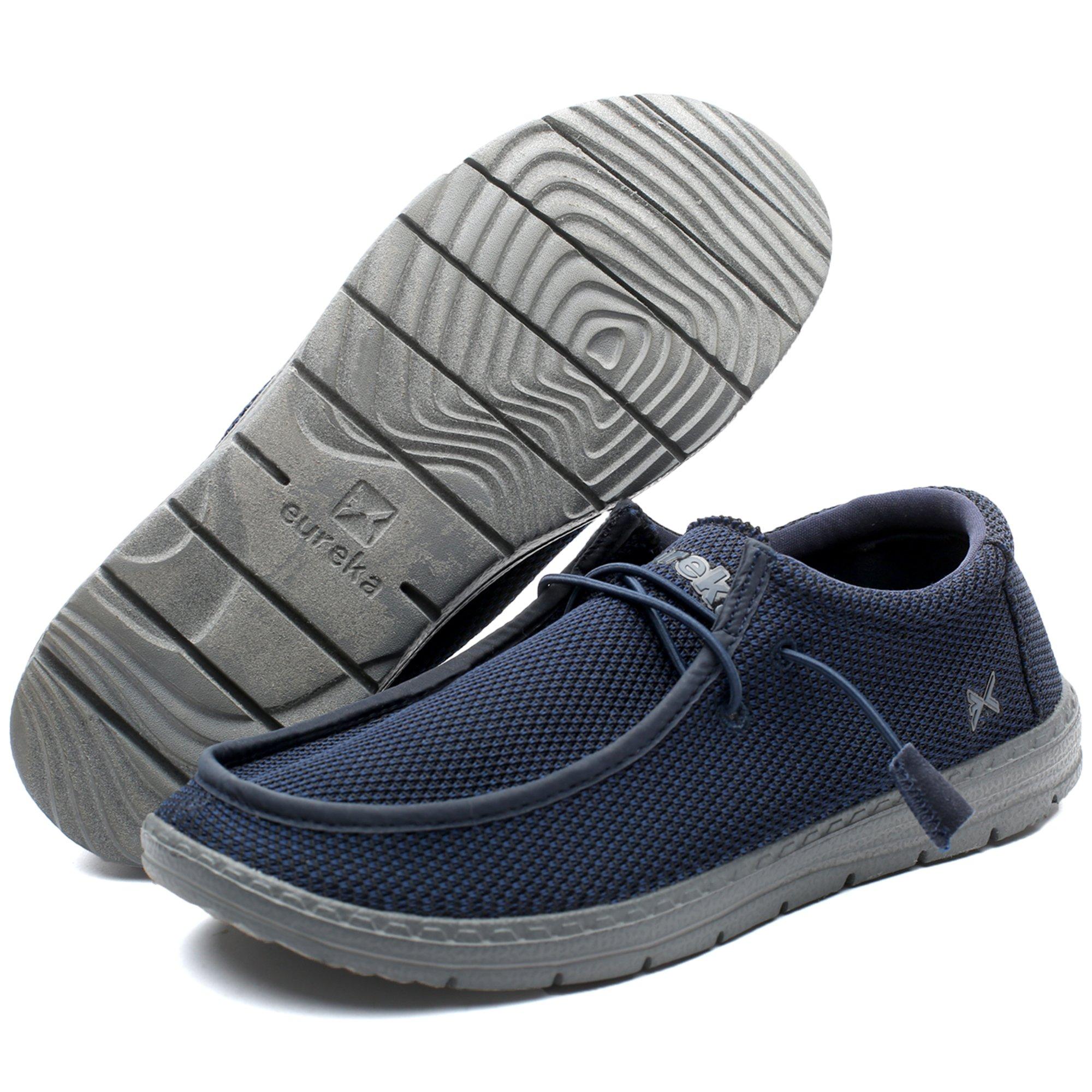 Eureka USA Traveler Pro Men's Casual Slip-On Sneaker, Comfort Stretch Moccasin Loafer and Walking Chukka Boot by Eureka USA