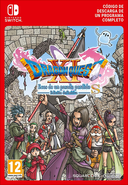 Dragon Quest XI S: Ecos de un pasado perdido – Edición Definitiva   Nintendo Switch - Código de descarga: Amazon.es: Videojuegos