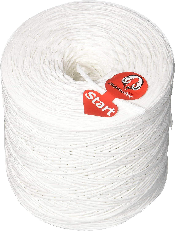 1 White /9 6,000/ Mamutec Allround Rope Polypropylene 2//5/Inch 5/mm /25800/