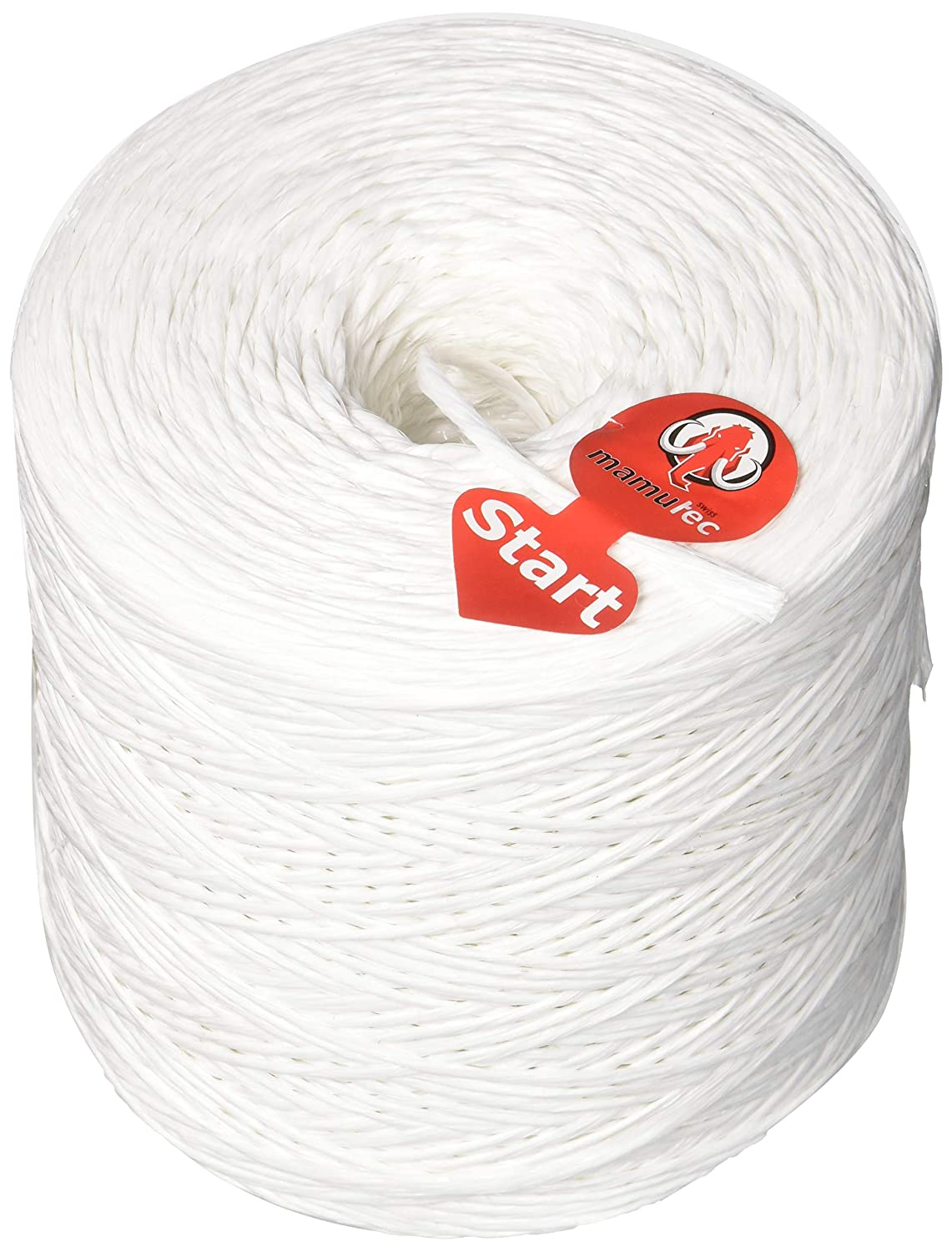 Mamutec Allround Rope Polypropylene 2/5  inch 5  mm (1), White, 6,000  –   25800  –   9 000 - 25800 - 9 6000-25800-01-9