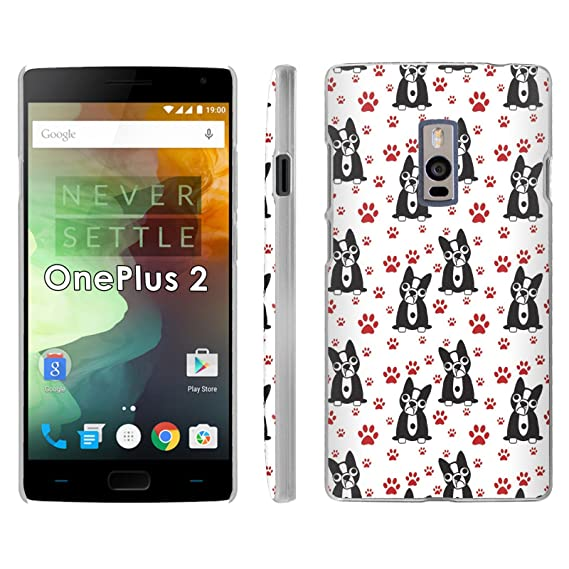 Amazon Com One Plus 2 Phone Cover Snub Dog Paw Print Slim Clip