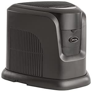AIRCARE EA1208 Digital Whole-House Console-Style Evaporative Humidifier, Espresso