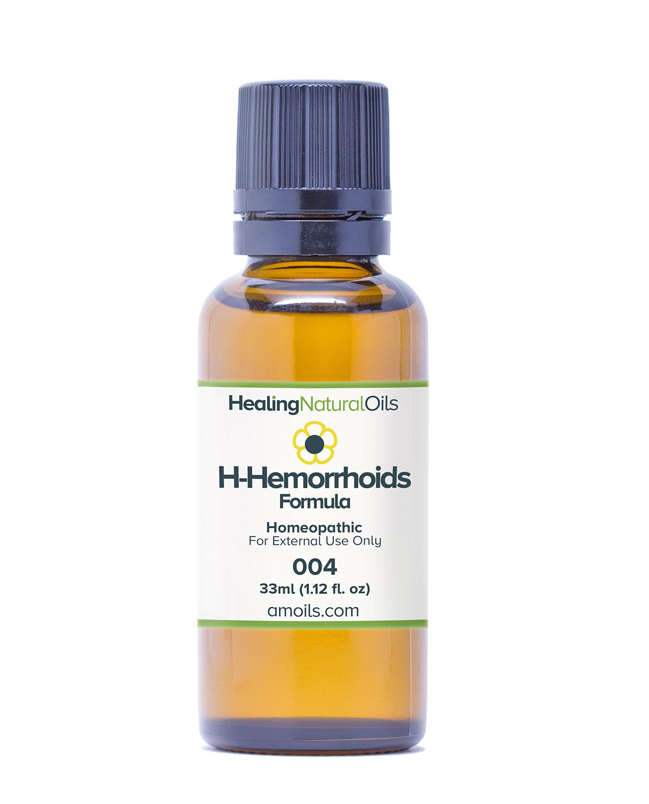 H- Hemorrhoids Relief (33ml): Natural Hemorrhoid Treatment for Internal,  External or