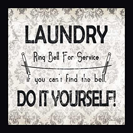 Amazon laundry do it yourself by dee dee 10x10 framed laundry do it yourself by dee dee 10quotx10quot framed giclee canvas solutioingenieria Image collections
