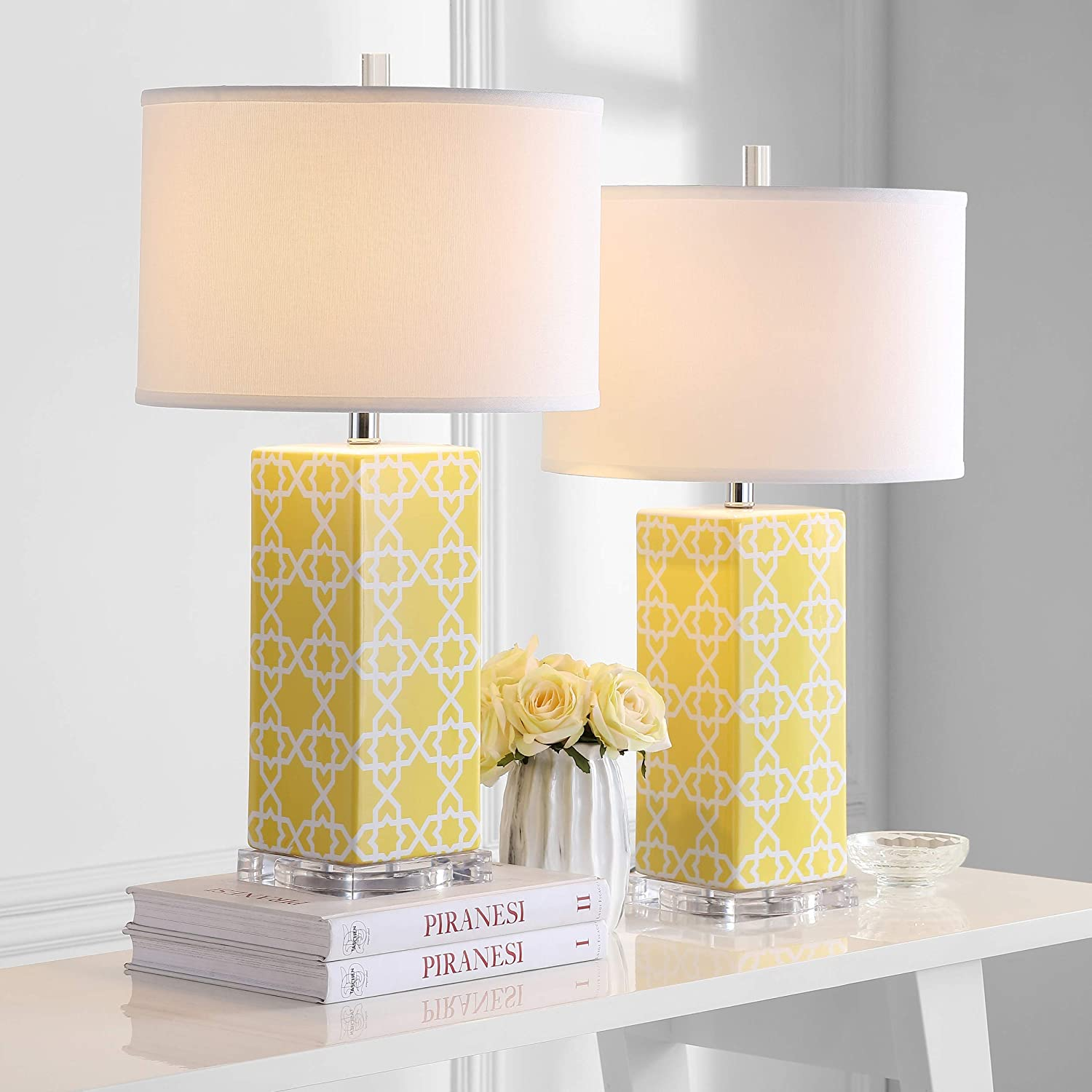 Amazon.com: Safavieh Lighting Collection Quatrefoil lámpara ...