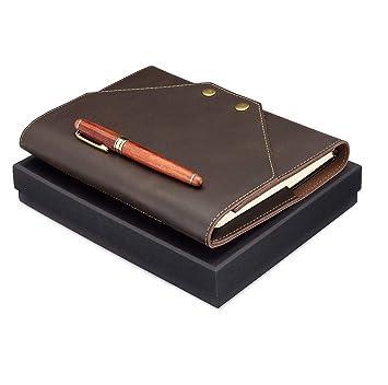 Amazon.com: Funda de piel para cuaderno.: Office Products