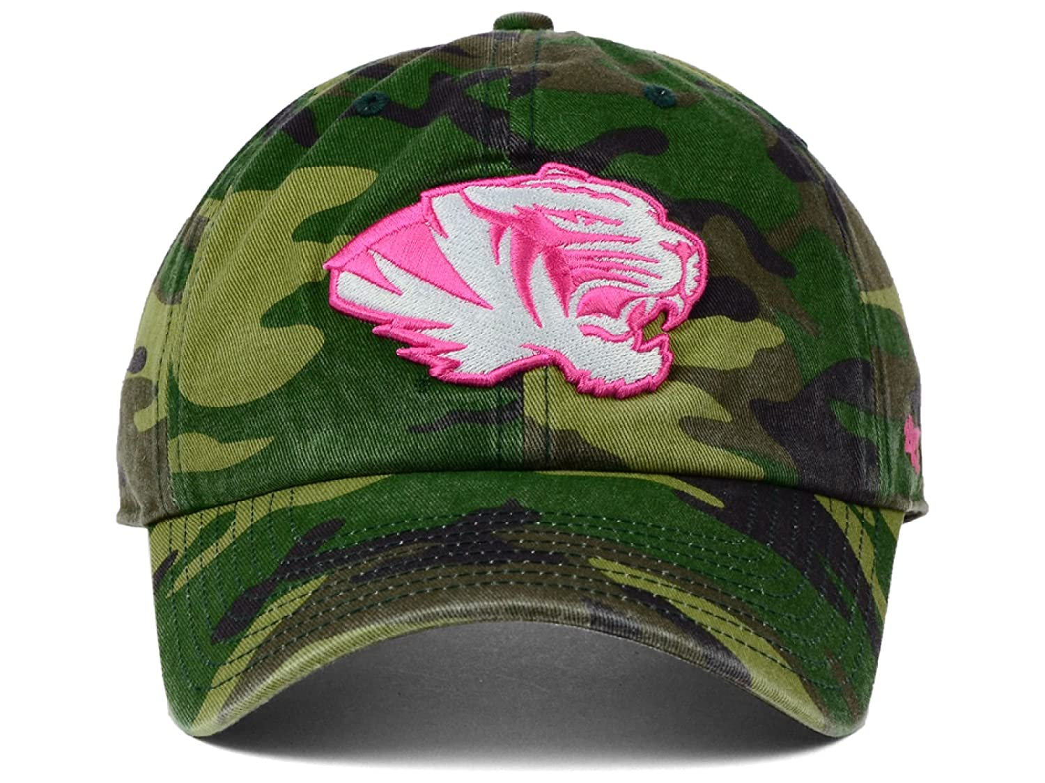 d1147ad029654 ... cap 00f7f d915c store amazon missouri tigers ncaa camo pink 47 fashion clean  up womens adjustable one size hat ...