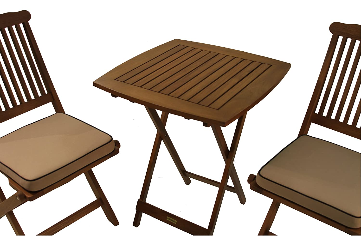 Best of Times 13169W2301 Classic Bamboo 30 Padded Bar Stools-Set of 4 , Brown