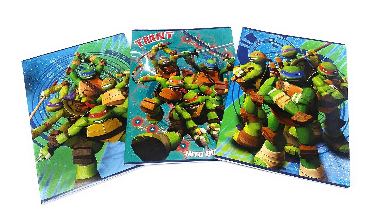 cuaderno Maxi hojas para 1 y 2 primaria Turtles - Teenage ...