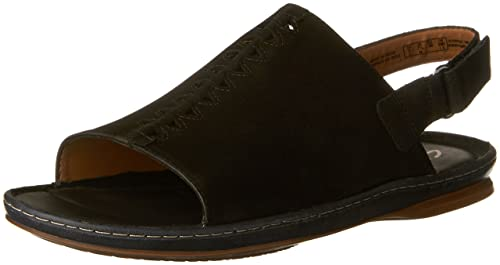 Amazon.com   Clarks Sarla Forte Womens Flat Slingback Sandals   Flats 3b5d38457bf
