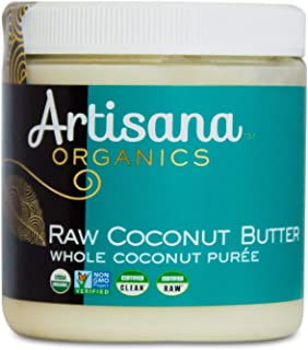 product image for Artisana Organics Non GMO Raw Coconut Butter, 8.5 oz