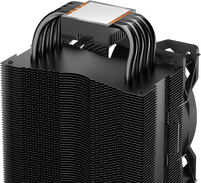 aluminium bross/é technologie HDT Pure Rock 2. Pure Rock Be Quiet refroidisseur de processeur 150W TDP