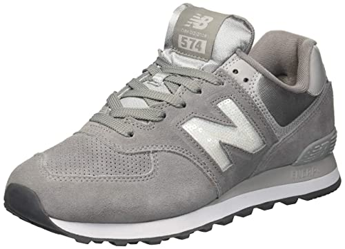 Amazon.com | New Balance Womens 574 Core Sneaker, Marblehead/Magnet, 9 D US | Fashion Sneakers