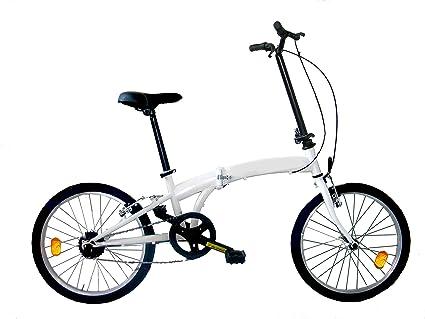Masciaghi Frejus Stafford, bicicletta pieghevole, 20 pollici, bianco