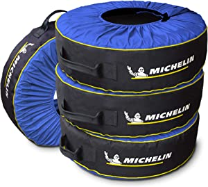 Kurgo Michelin 80 Tire Covers & Tire Bags - Pack of 4