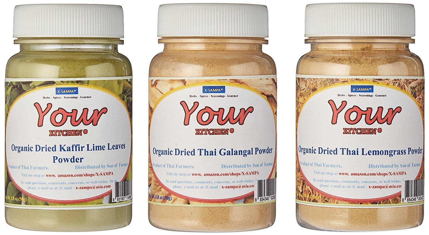 Yours Kitchen Ultimate Spices Seasonings Gift Set With 3 Spices.