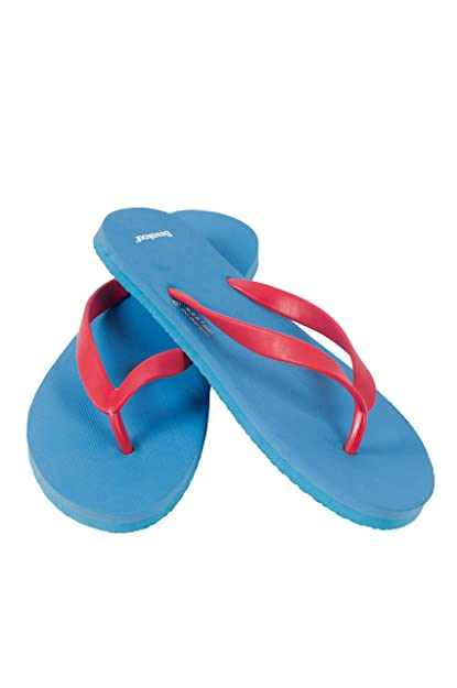 3f58e976c074c6 Bewakoof Men s Beachboy Blue Plain Flip Flops Slippers  Buy Online ...